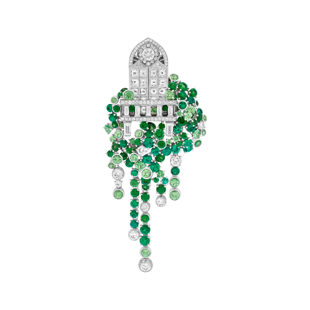 The Balcone brooch. Courtesy of Van Cleef & Arpels.