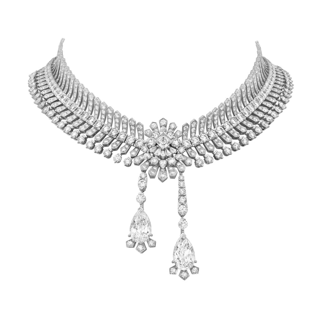 The Collier Reticella necklace. Courtesy of Van Cleef & Arpels.