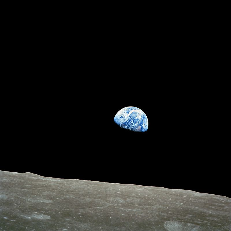 William Anders for NASA, Earthrise. Courtesy of NASA.