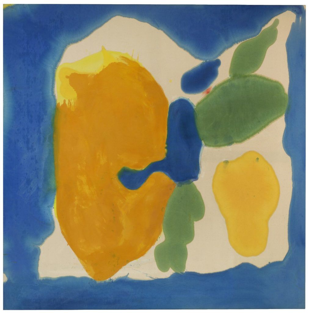 Helen Frankenthaler, Provincetown Window (1963-64). Helen Frankenthaler Foundation, Inc. / Artists Rights Society (ARS), New York. Photograph by Tim Pyle, Light Blue Studio, courtesy Helen Frankenthaler Foundation, New York.