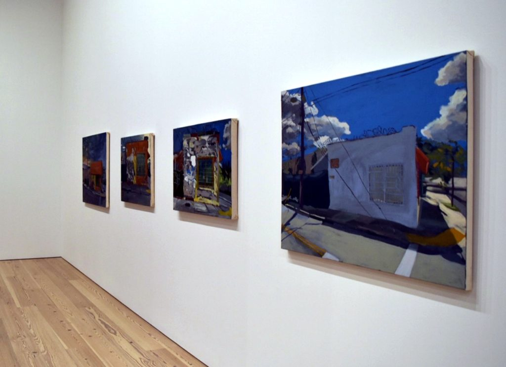 Installation view of works by Eddie Arroyo. Image courtesy Ben Davis.