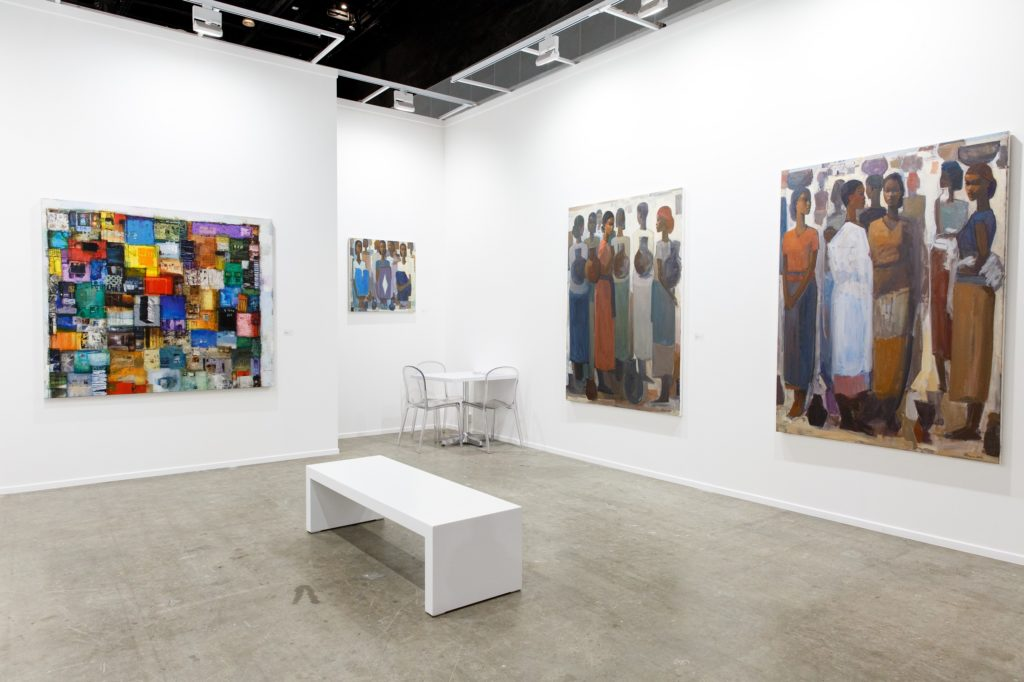 Installation view, courtesy of Addis Fine Arts.