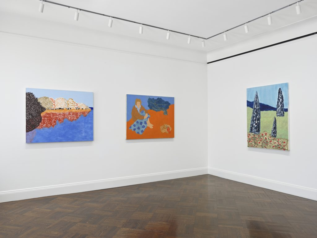 "Installation view of ""March Avery."" © March Avery, Courtesy of the artist and Blum & Poe, Los Angeles/New York/Tokyo Photo: Genevieve Hanson."