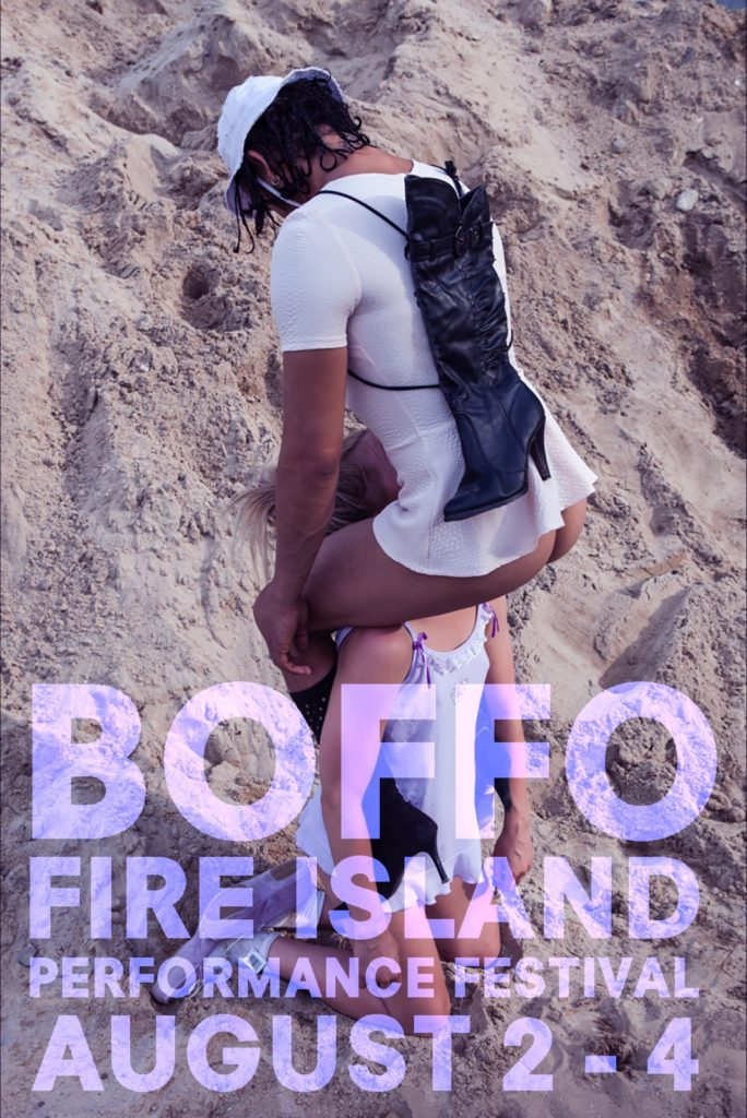 BOFFO Fire Island Performance Festival. Image courtesy of BOFFO.