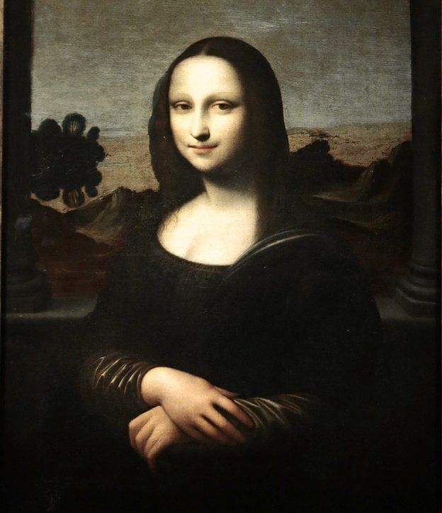The <em>Isleworth Mona Lisa</em>, possibly a second version of the painting, also by Leonardo da Vinci. Courtesy of the Mona Lisa Foundation.