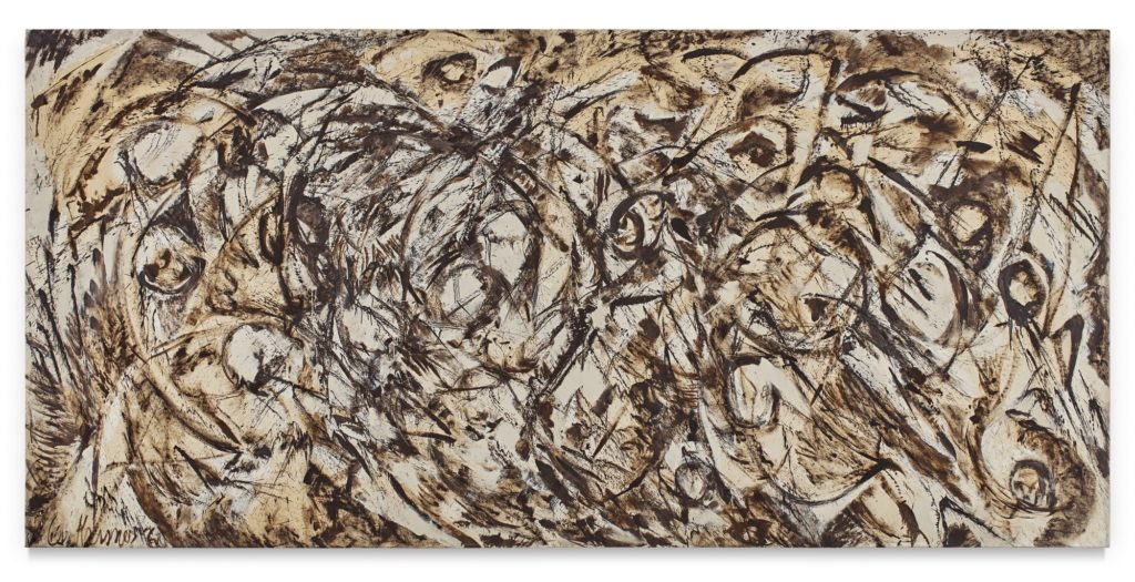 Lee Krasner, <I>The Eye Is the First Circle</i> (1960). The painting set a new record for the artist with a $11.7 million sale at auction. Courtesy of Sotheby's.