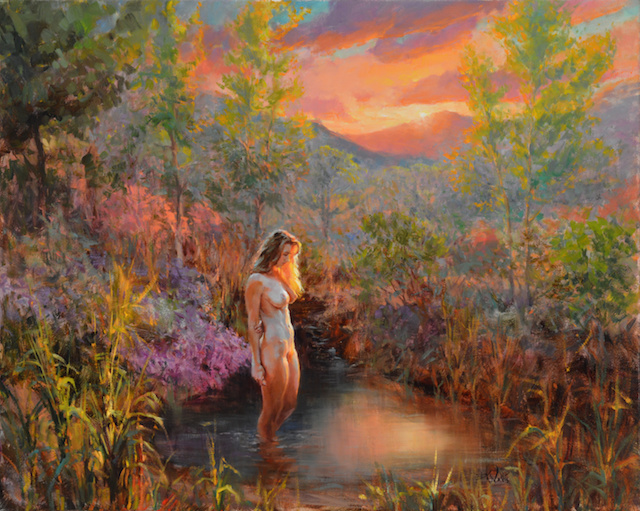 Eric Wallis, <em>Spring Glow</em>. Courtesy of Nude Art LA.