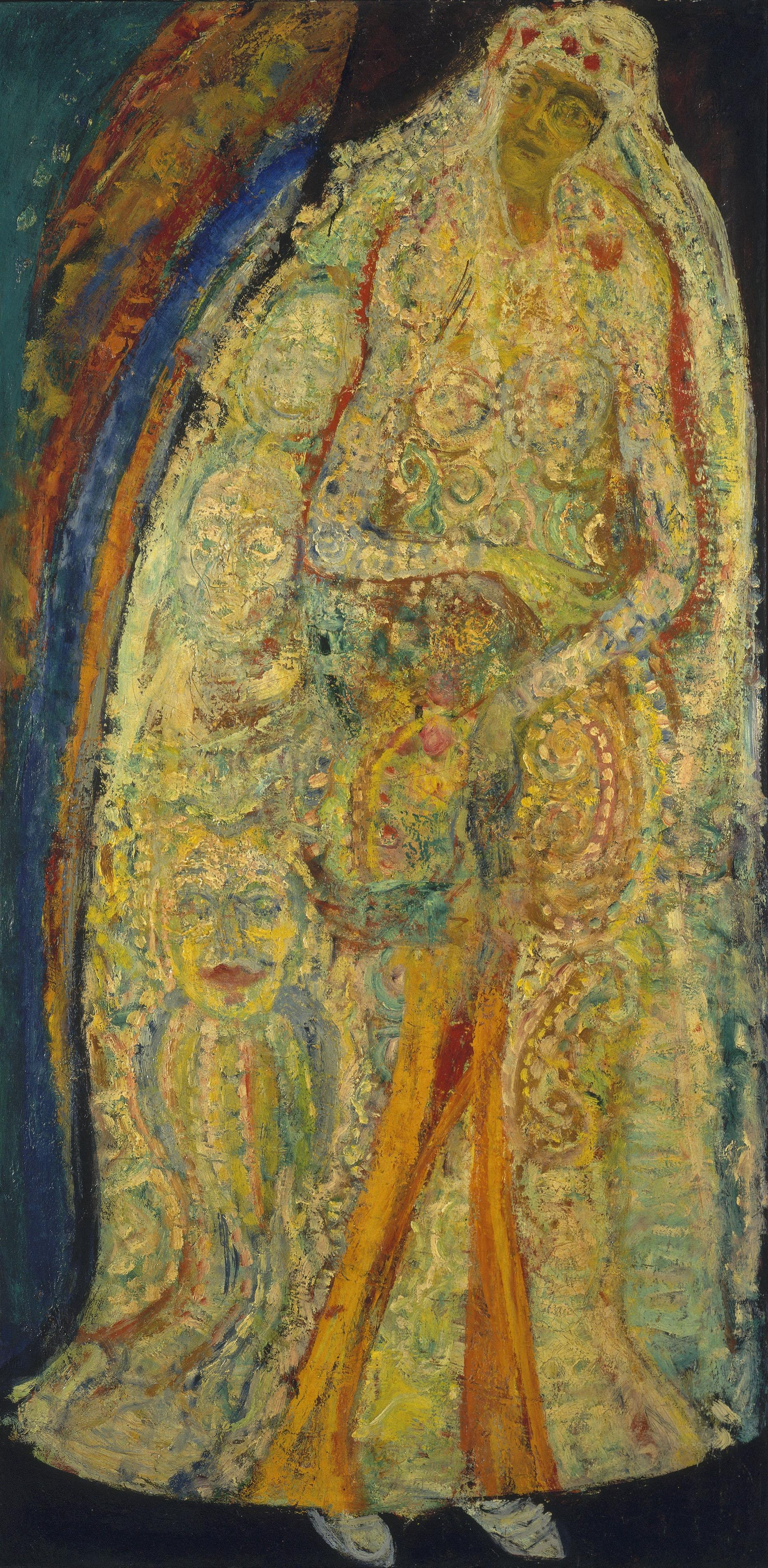 Hyman Bloom, <em>The Bride</em> (