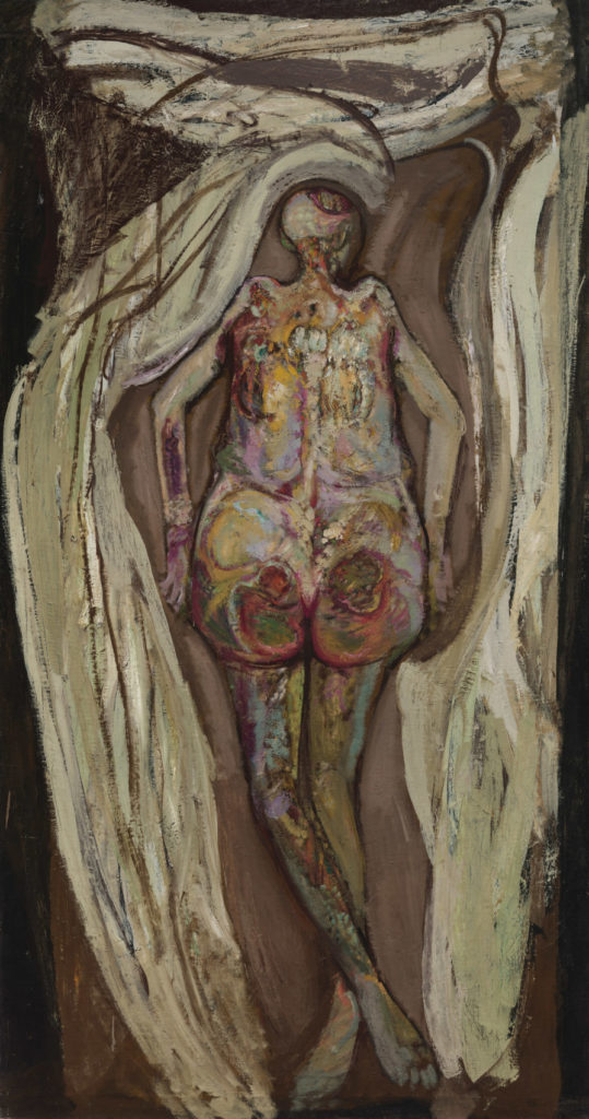 Hyman Bloom, <em>Female Corpse, Back View</em> (