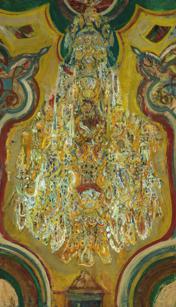 Hyman Bloom, <em>Chandelier No. 2</em> (