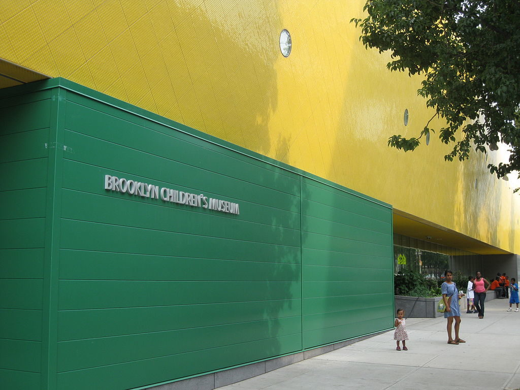 The Brooklyn Children's Museum. Courtesy of Wikimedia Commons.