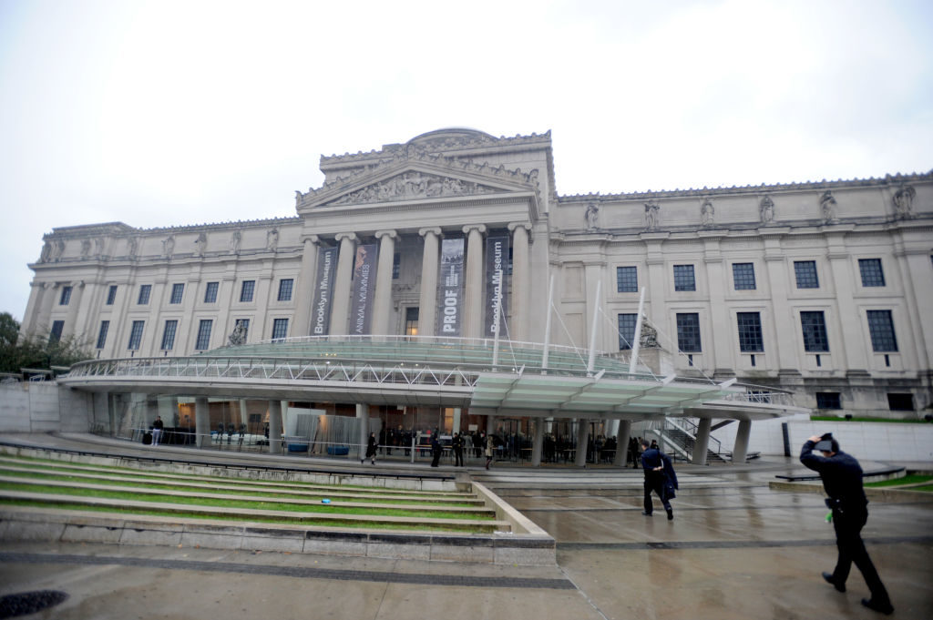 The Brooklyn Museum. Photo: Brad Barket/Getty Images.