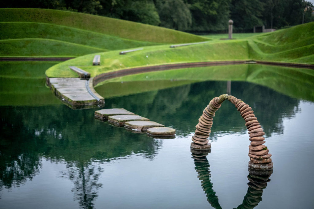 Charles Jencks' Cells of Life at Jupiter Artland. Courtesy of Steve Hodgeson/Flckr Creative Commons.