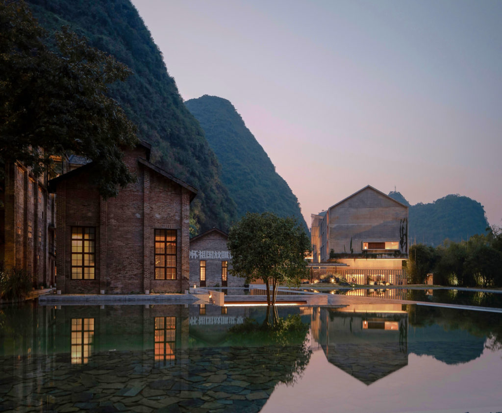 The Alila Yangshuo. Photo courtesy the Alila Yangshuo.