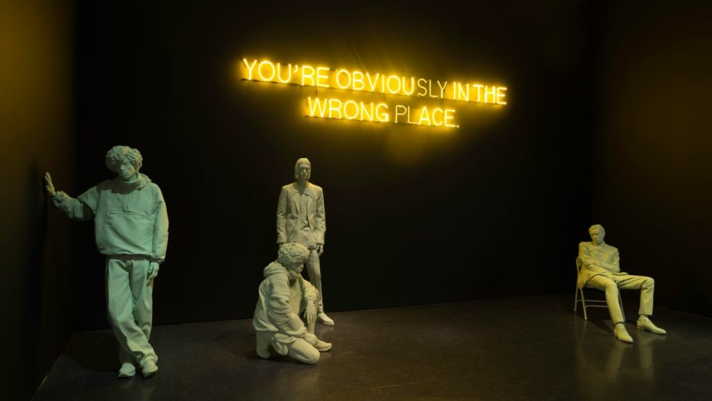 "Installation view ""Virgil Abloh: Figures of Speech"" at MCA Chicago. © Nathan Keay, Courtesy of MCA Chicago"