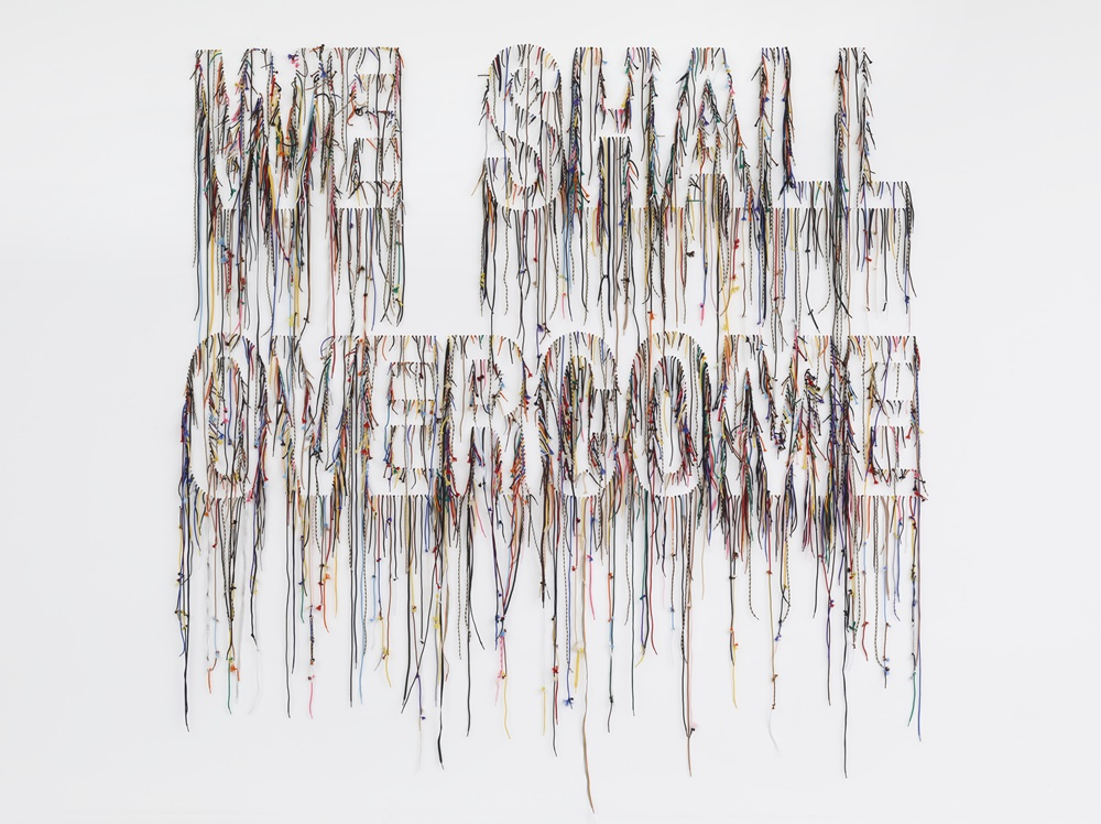 Nari Ward, We Shall Overcome (2015) Photograph by Elisabeth Bernstein; image courtesy of the artist and Lehmann Maupin, New York and HongKong