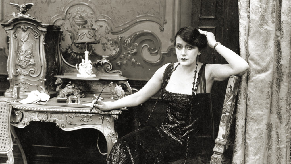 A scene from Alice Guy Blaché's <em>Playing With Fire</eM> (1916) in the documentary <eM>Be Natural: The Untold Story of Alice Guy-Blaché</em>. Courtesy of Zeitgeist Films/Kino Lorber.