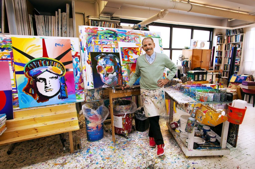 Peter Max. Photo courtesy of the artist.