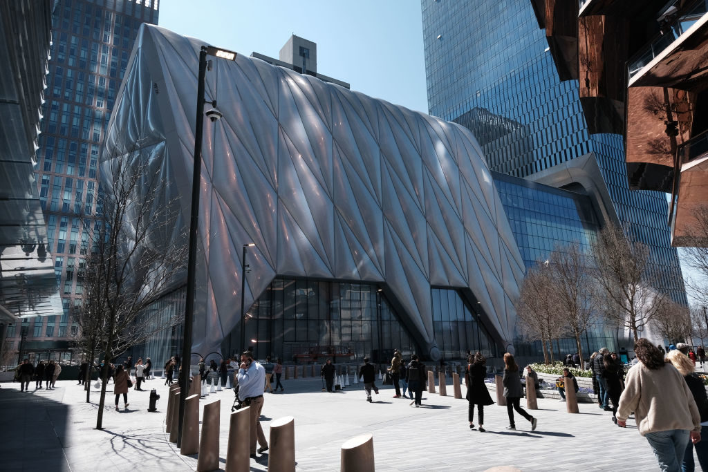 The Shed in Hudson Yards. Photo by Spencer Platt/Getty Images.