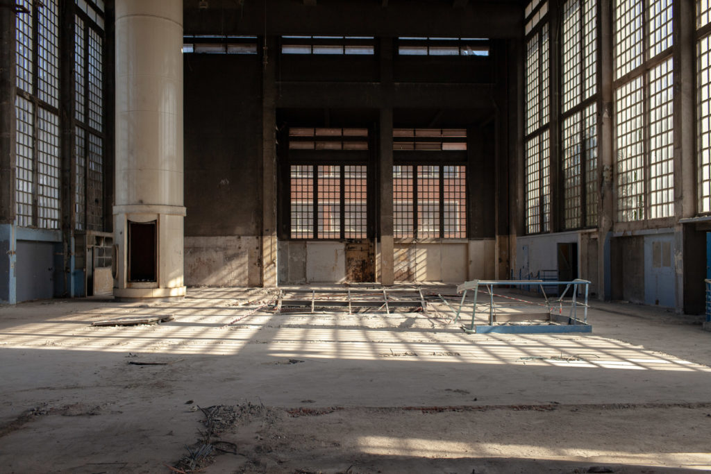 A view of the space that will become La Chaufferie at Komunuma in Romainville, outside Paris. Copyright and courtesy: Fondation FIMINCO. Photo: Axelle Poisson.