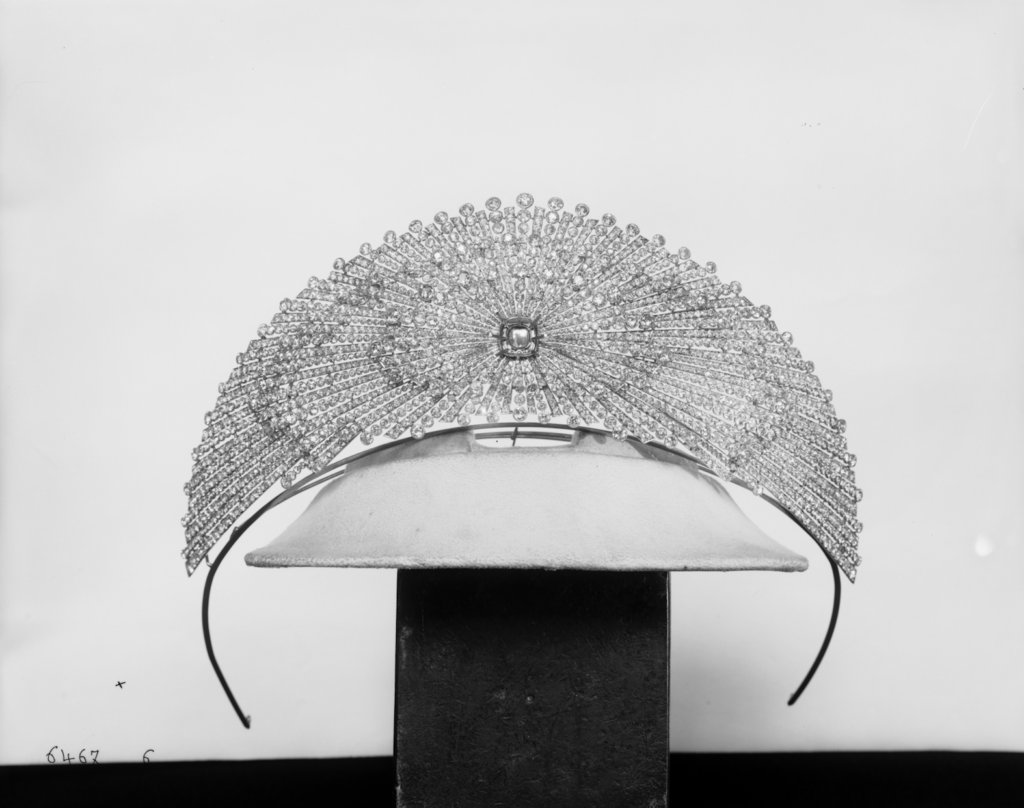 Princess Yusupov's sun tiara. Photo courtesy Chaumet.