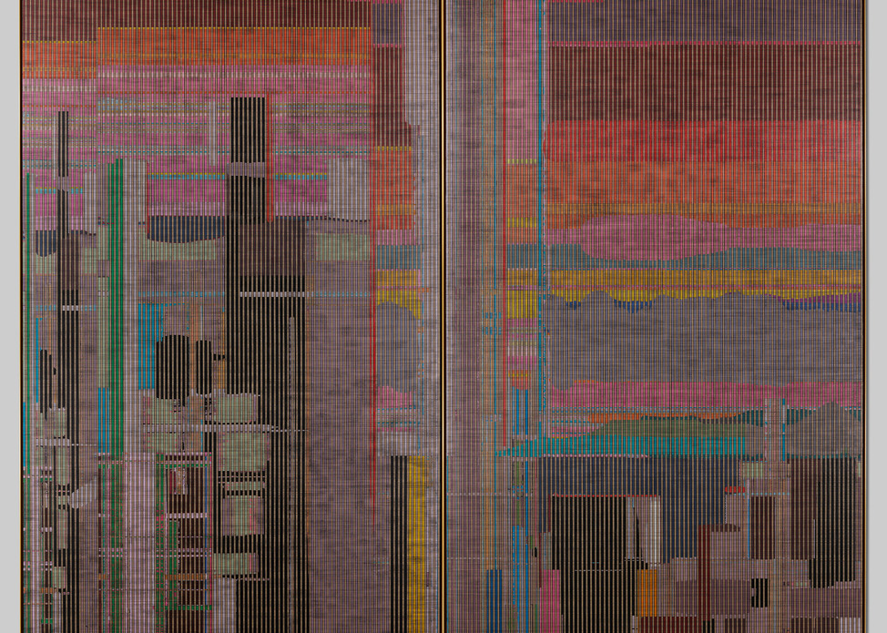 Liu Wei, Panorama No. 2 (2015–16) [detail]. Courtesy the artist and Cleveland Museum of Art.