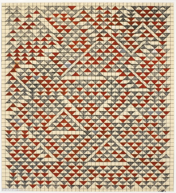 Anni Albers. Study for Camino Real (1967.) © The Josef and Anni Albers Foundation / Artists Rights Society (ARS), New York 2019. Photography by Tim Nighswander/Imaging4Art.