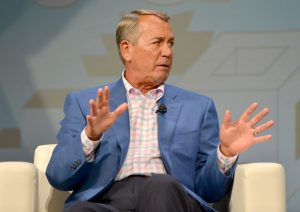 George W. Bush Painted Former House Speaker John Boehner as a Parting Gift—and Now It's His Official Portrait