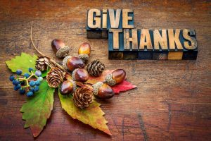 Happy Thanksgiving! We at Money & Markets Are Thankful for…